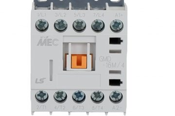 Miniature contactors